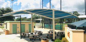 Shaded Ballpark